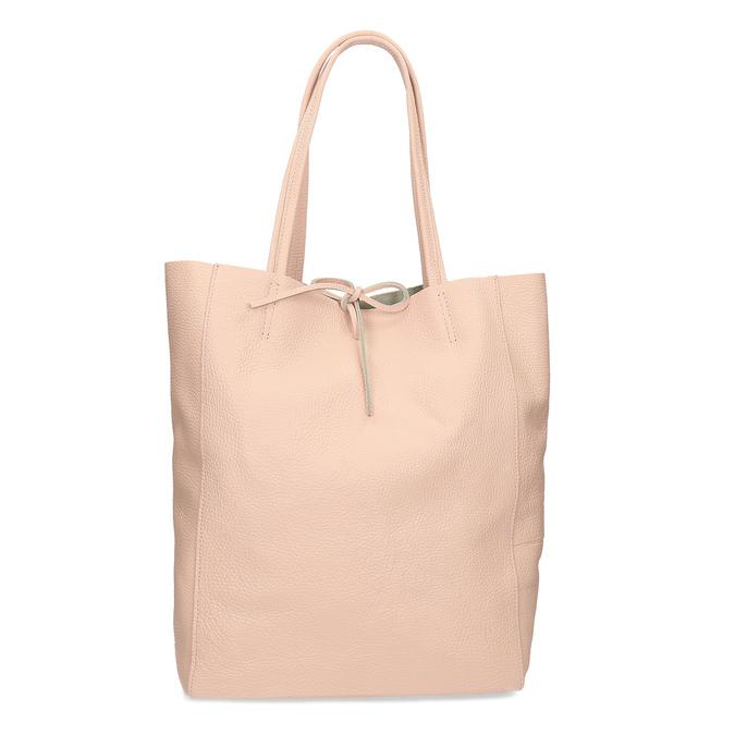 Růžová kožená kabelka bata, růžová, 964-5162 - 16