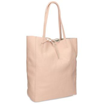 Růžová kožená kabelka bata, růžová, 964-5162 - 13