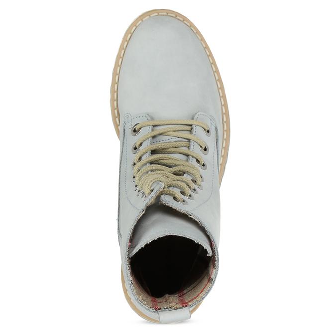 Modré kotníkové boty dámské weinbrenner, modrá, 596-9601 - 17