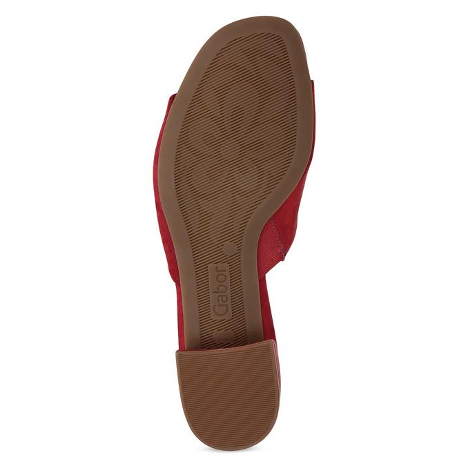 Nazouváky dámské červené gabor, červená, 661-5607 - 18