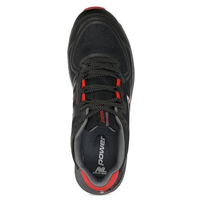 Černé pánské sportovní tenisky power, černá, 809-6415 - 17