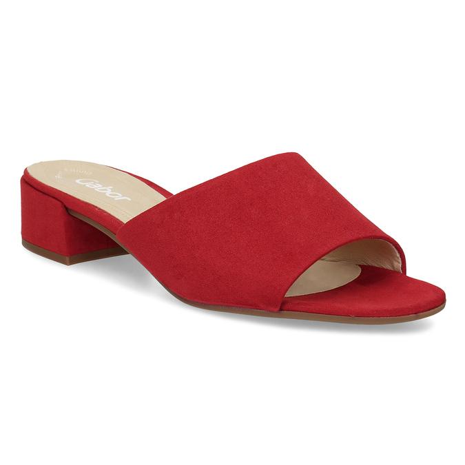 Nazouváky dámské červené gabor, červená, 661-5607 - 13