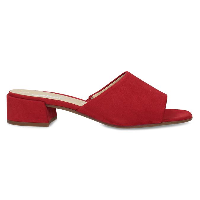 Nazouváky dámské červené gabor, červená, 661-5607 - 19