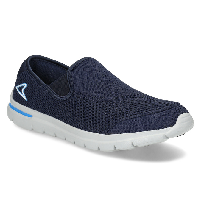 Pánské sportovní Slip-on power, modrá, 809-9318 - 13