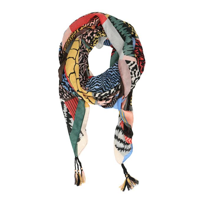 Dámský šátek vícebarevný bata, vícebarevné, 909-0362 - 16
