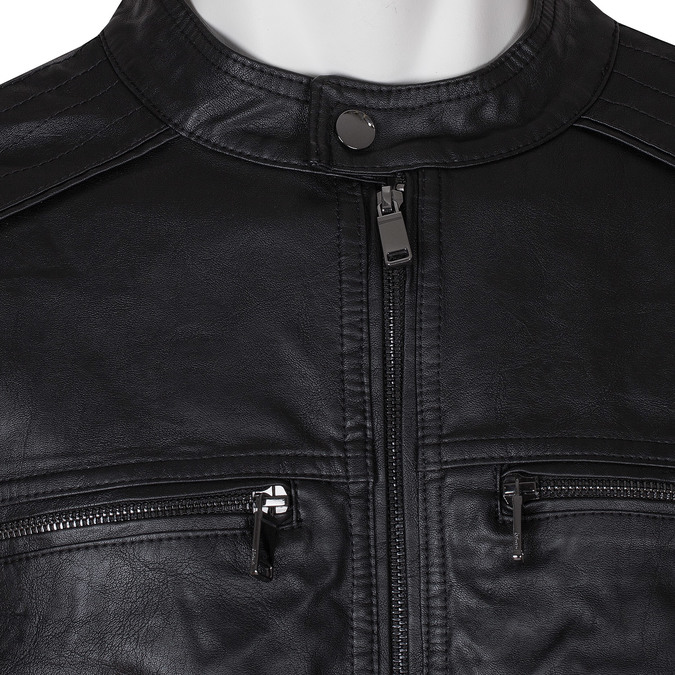 Černá pánská bunda bata, černá, 971-6245 - 16