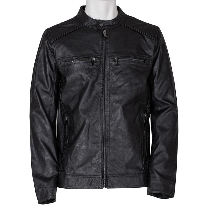 Černá pánská bunda bata, černá, 971-6245 - 13