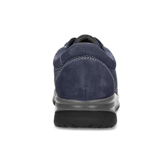 Kožené modré dámské tenisky comfit, modrá, 546-9600 - 15