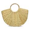 Proutěná dámská plážová kabelka bata, béžová, 969-8784 - 16