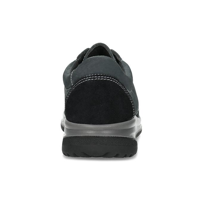 Kožené šedé dámské tenisky comfit, šedá, 546-2601 - 15