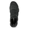 Černé pánské kotníčkové tenisky z úpletu power, černá, 809-6235 - 17