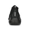 Dámské černé kotníčkové tenisky z úpletu power, černá, 509-6237 - 15