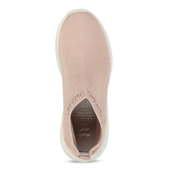 Dámské kotníčkové tenisky růžové bata-light, růžová, 599-5628 - 17