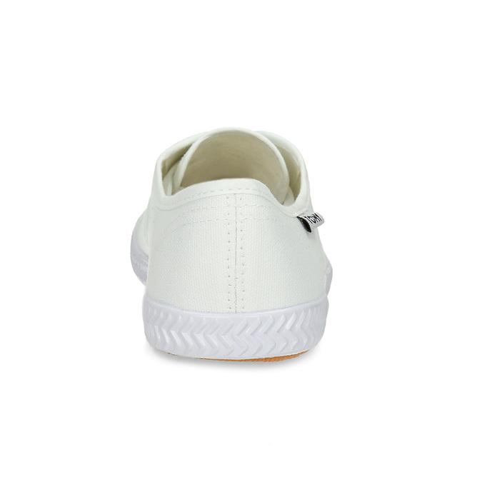 Dámské bílé ležérní tenisky tomy-takkies, bílá, 589-1385 - 15