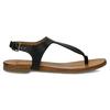 Černé dámské kožené sandály bata, černá, 564-6603 - 19