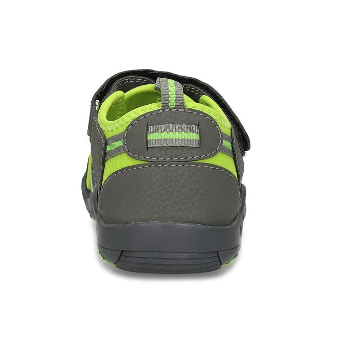 Sandály v outdoorovém stylu mini-b, šedá, 461-2616 - 15