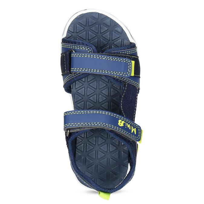 Modré sandály chlapecké mini-b, modrá, 361-9620 - 17
