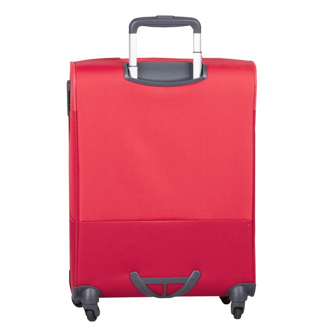 Kvalitní červený textilní kufr samsonite, červená, 960-5037 - 26