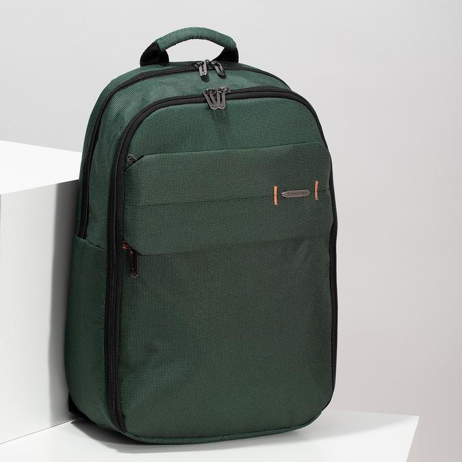 Velký zelený cestovní batoh samsonite, zelená, 960-7066 - 17