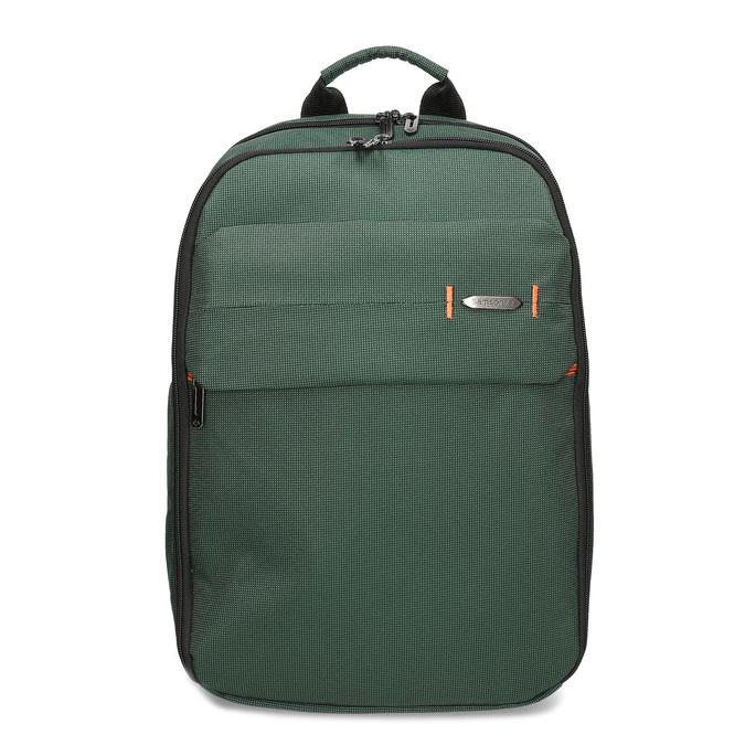 Velký zelený cestovní batoh samsonite, zelená, 960-7066 - 26