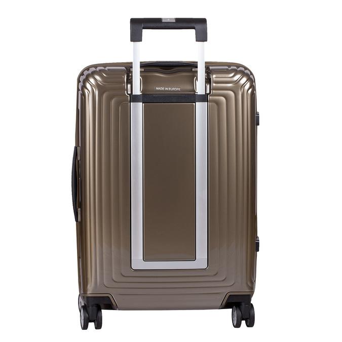 Zlatý kvalitní skořepinový kufr samsonite, zlatá, 960-8022 - 26