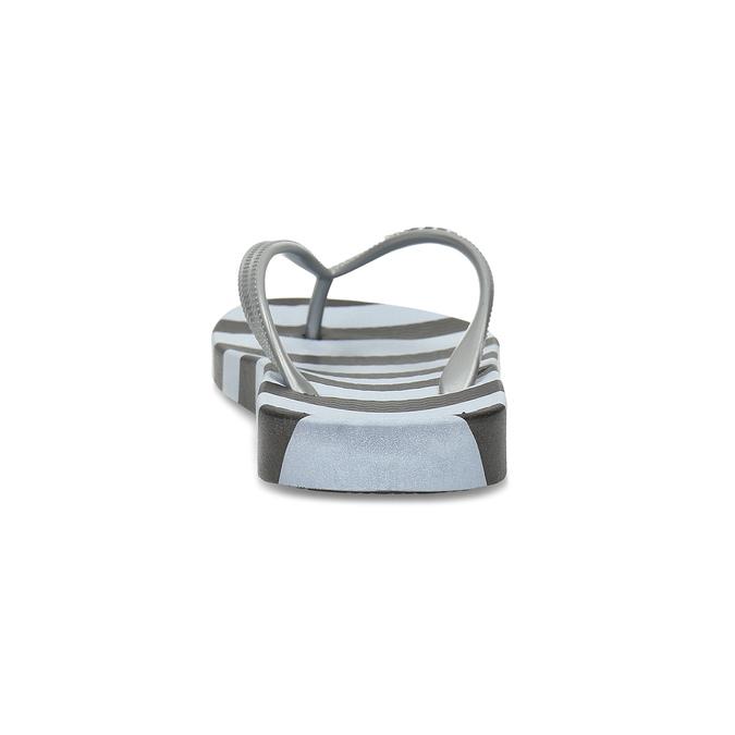 Dámské žabky černé coqui, stříbrná, 572-2662 - 15