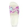 Bílé nazouváky dětské coqui, růžová, 372-5665 - 17