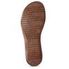 Dámské kožené žabky bílé bata, bílá, 566-1600 - 18