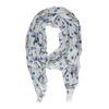 Lehký dámský šátek se vzorem bata, vícebarevné, 909-0507 - 26