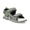 Chlapecké šedé sandály kožené weinbrenner, šedá, 463-2608 - 13