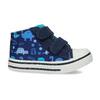 Dětské textilní tenisky bubblegummers, modrá, 119-9603 - 19