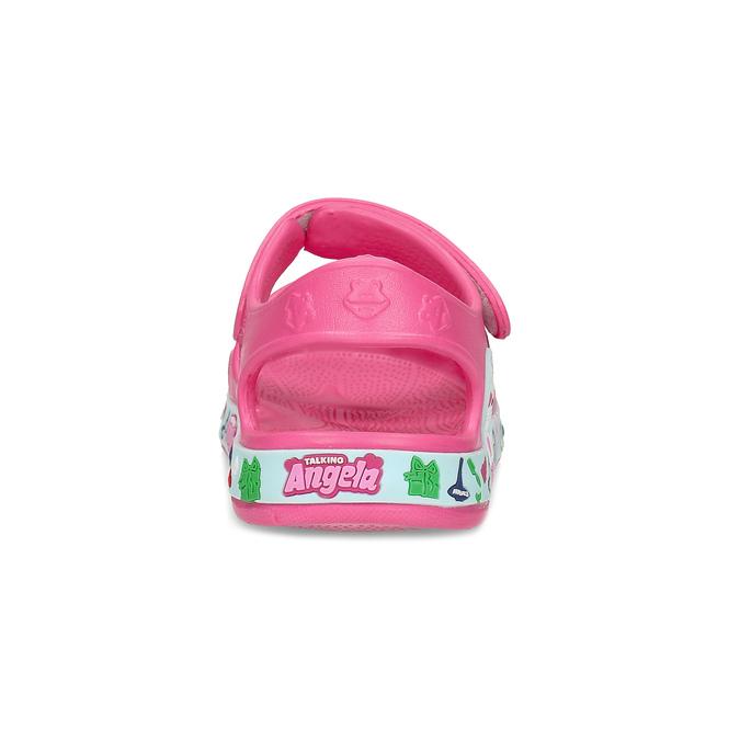 Růžové dětské sandály coqui, růžová, 172-5600 - 15