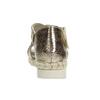 Zlaté dámské sandály na světlé podešvi bata, zlatá, 561-8606 - 15