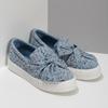 Modrá dámská Slip-on obuv se vzorem north-star, modrá, 639-9602 - 26