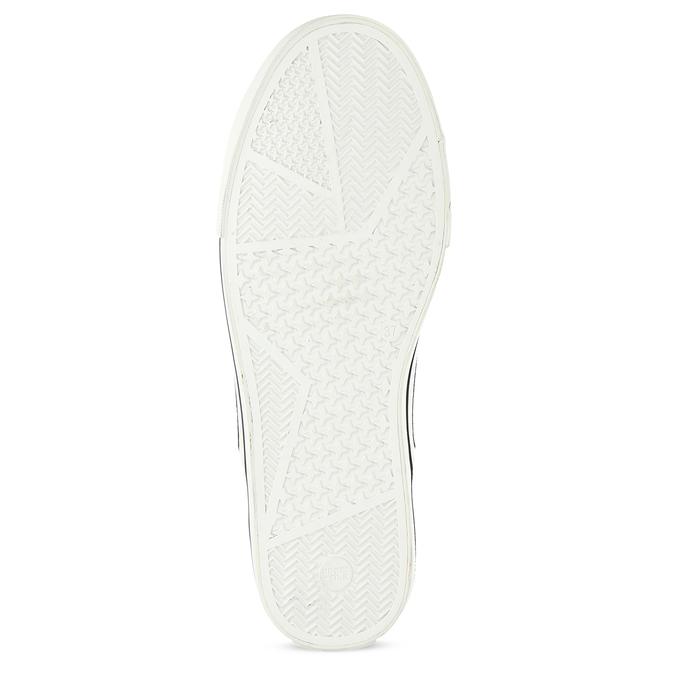 Dámské bílé tenisky s hvězdičkami north-star, bílá, 549-1616 - 18