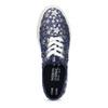 Modré dámské tenisky s hvězdičkami north-star, modrá, 649-9604 - 17