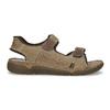 Kožené pánské sandály černo-modré weinbrenner, hnědá, 866-4643 - 19