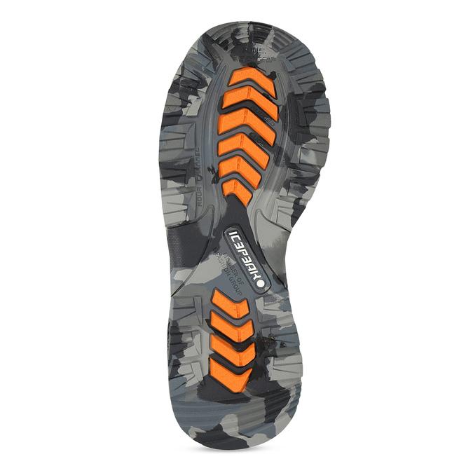 Dětská černá zimní obuv se zateplením icepeak, černá, 399-6006 - 18