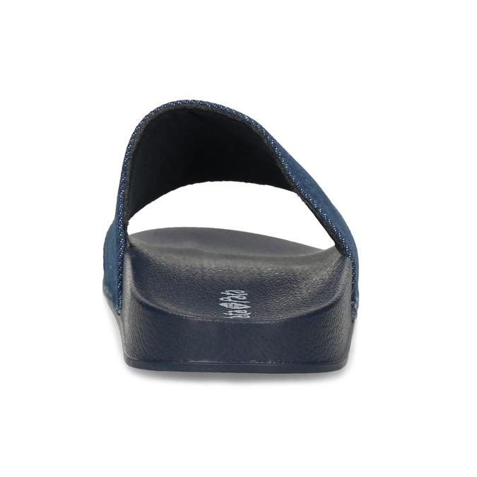 Tmavě modré dětské nazouváky pata-pata, modrá, 479-9611 - 15