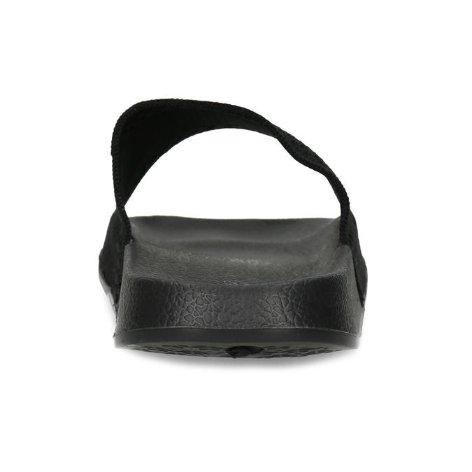 Černé dámské textilní nazouváky pata-pata, černá, 579-6689 - 15