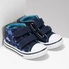 Dětské textilní tenisky bubblegummers, modrá, 119-9603 - 26