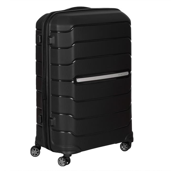 Černý cestovní kufr na kolečkách samsonite, černá, 960-6623 - 13