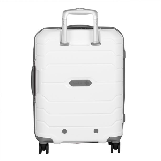 Bílý cestovní kufr na kolečkách samsonite, bílá, 960-1620 - 26