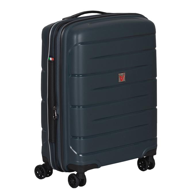 Tmavě modrý kufr na kolečkách roncato, modrá, 960-9616 - 13