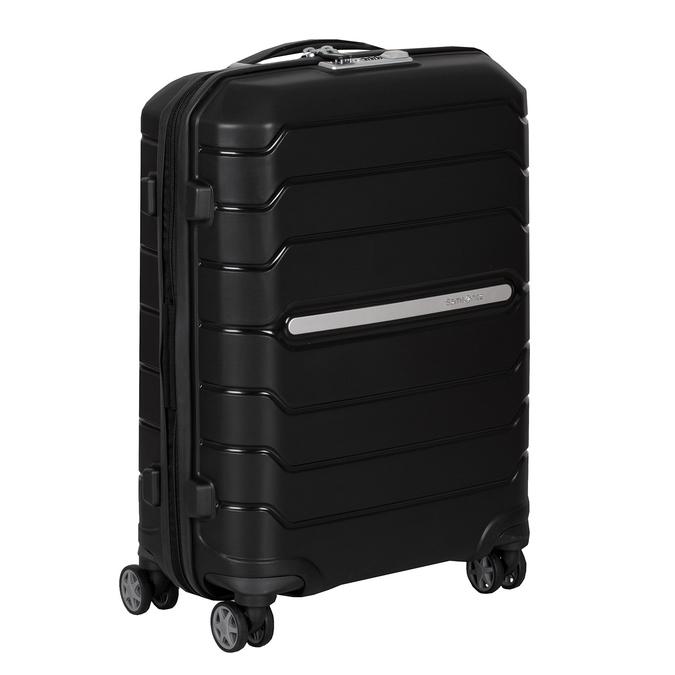 Černý cestovní kufr na kolečkách samsonite, černá, 960-6619 - 13