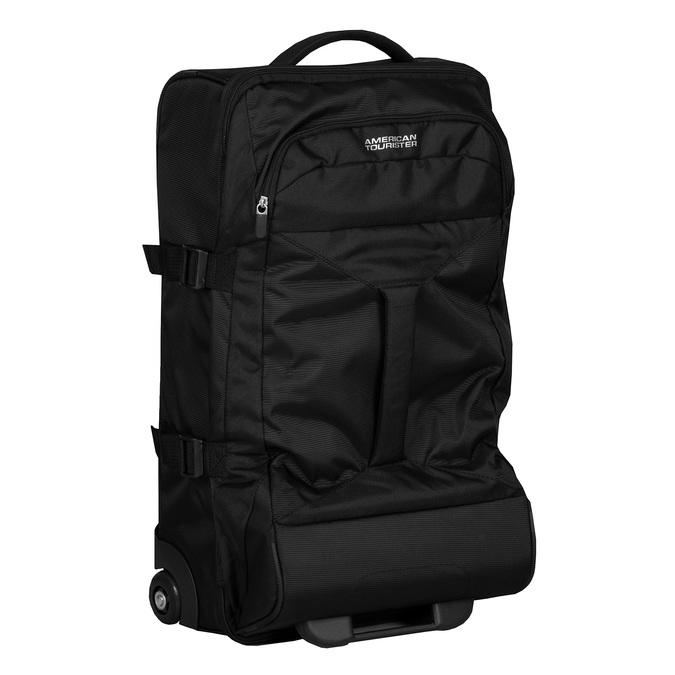 Černá cestovní taška na kolečkách american-tourister, černá, 969-6742 - 13