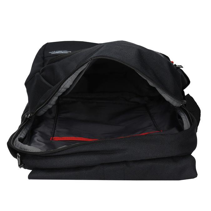 Černý cestovní batoh american-tourister, černá, 969-6744 - 15