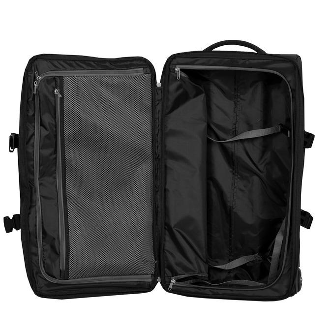 Černá cestovní taška na kolečkách american-tourister, černá, 969-6742 - 17