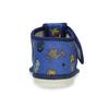 Modré dětské přezůvky se vzorem bata, modrá, 179-9630 - 15