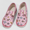 Dětské růžové přezůvky se vzorem bata, růžová, 379-5616 - 16